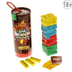 Веселая игра «Пьяная башня»